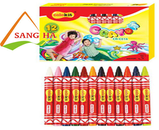 Sáp màu Thiên Long CR-C016 (12 màu)