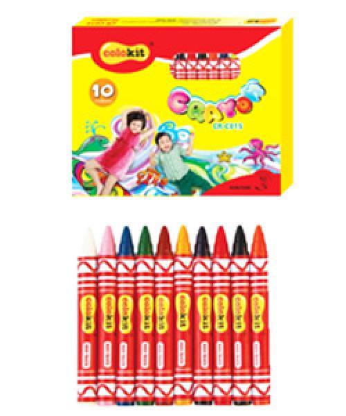 Sáp màu Thiên Long CR-C015 (10 màu)