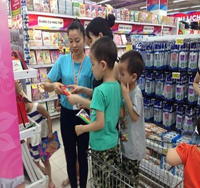 Sản phẩm được tung ra hệ thống siêu thị trên toàn quốc