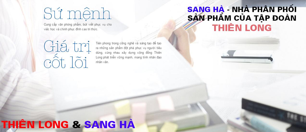 Sang Hà Nhà phân phối sản phẩm Thiên Long giá tốt nhất