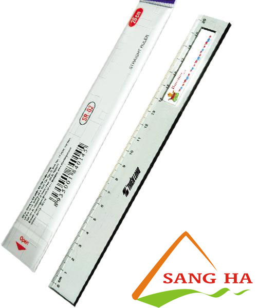 Thước thẳng Thiên Long 20cm SR-02