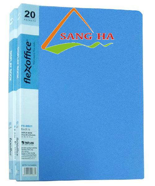 Bìa Thiên Long 20 lá A4 FO-DB01