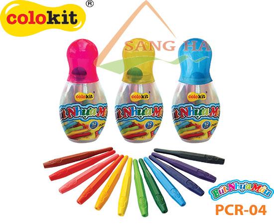 Bút nhựa màu Thiên Long PCR-04