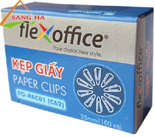 Kẹp giấy Thiên Long FO-PAC01 (25mm)