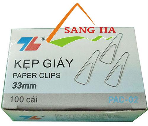 Kẹp giấy Thiên Long FO-PAC02 (33mm)