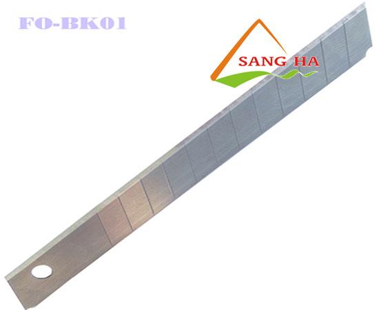 Lưỡi dao rọc giấy Thiên Long FO-BL01 9mm