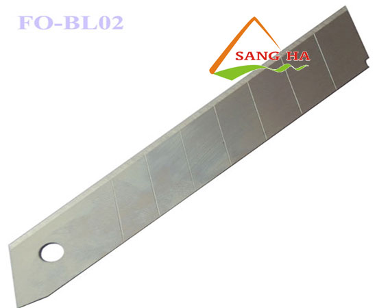 Lưỡi dao rọc giấy Thiên Long FO-BL02 18mm