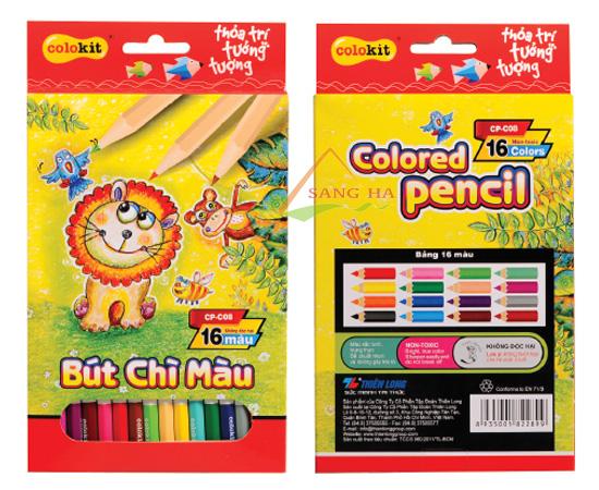 Bút chì 12 màu Thiên Long CP-C08