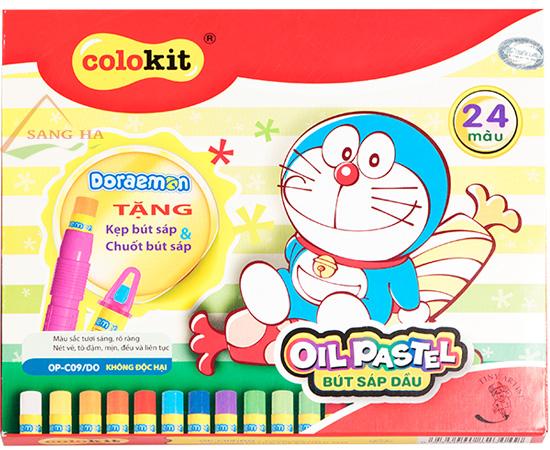Sáp dầu Thiên Long OPC-09/DO 24 màu